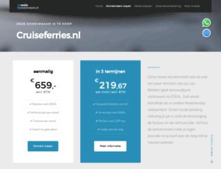 cruiseferries.nl screenshot