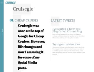 cruisegle.com screenshot