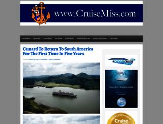 cruisemiss.com screenshot