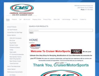 cruisermotorsports.com screenshot