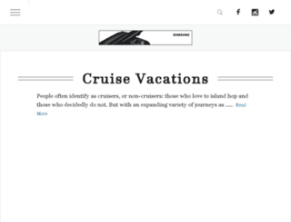 cruises.travelandleisure.com screenshot