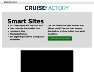 cruiseshoppe.cruisefactory.net screenshot
