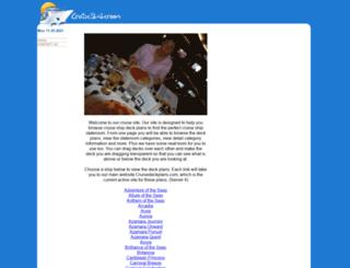 cruisestateroom.com screenshot