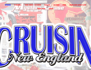 cruisinnewengland.com screenshot