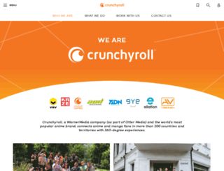 crunchyroll.co.jp screenshot