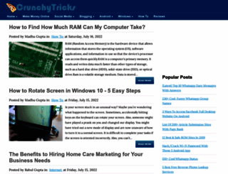 crunchytricks.com screenshot