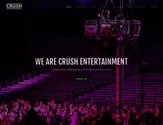 crushentertainment.com screenshot