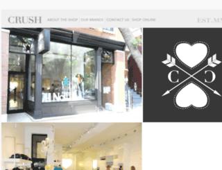 crushonroscoe.com screenshot