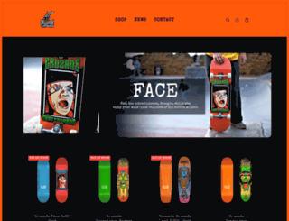 cruzadeskateboards.com screenshot