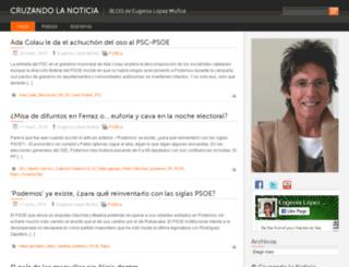 cruzandolanoticia.com screenshot