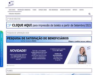 cruzazulsaude.com.br screenshot