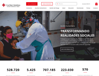 cruzrojabogota.org.co screenshot