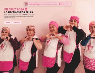 cruzrosa.org.mx screenshot