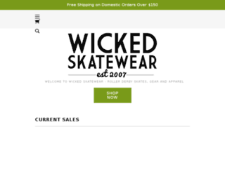 cruzskateshop.com screenshot