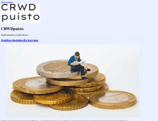crwdpuisto.fi screenshot