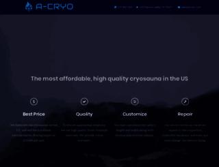 cryo-sauna.com screenshot