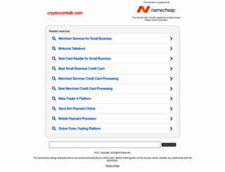 cryptocointalk.com screenshot