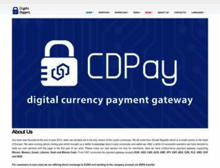 cryptodiggers.eu screenshot