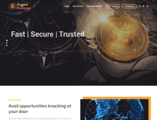 cryptoexchang.com screenshot
