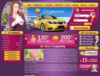 cryptopay.xyz screenshot