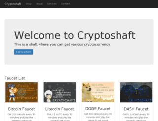 cryptoshaft.com screenshot