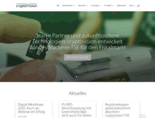 cryptovision.com screenshot