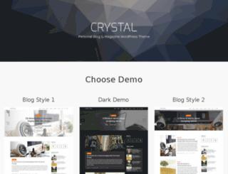 crystal-demo.code-125.com screenshot