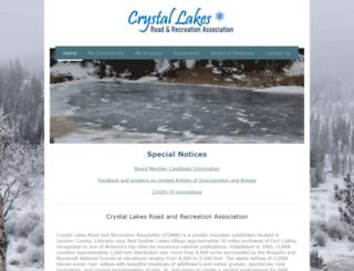crystal-lakes.org screenshot