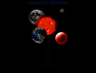 crystal-reflections.com screenshot