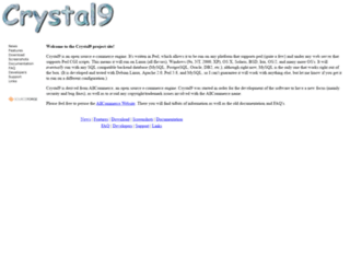 crystal9.sourceforge.net screenshot