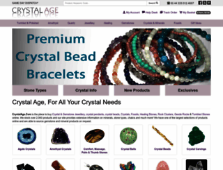 crystalage.com screenshot