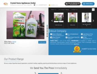 crystalappliances.com screenshot