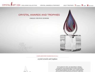 crystalartusa.com screenshot