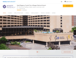 crystalcity.hyatt.com screenshot