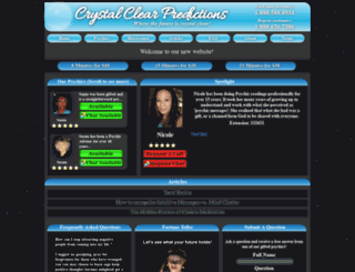 crystalclearpredictions.com screenshot