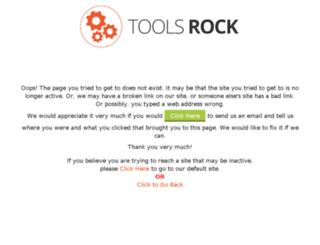 crystalclearresults.toolsrock.com screenshot