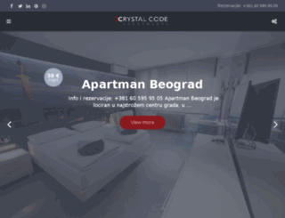 crystalcode.co.rs screenshot