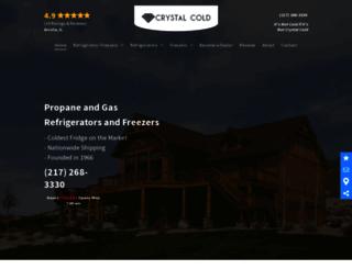 crystalcold.com screenshot