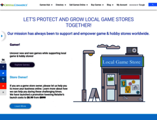 crystalcommerce.com screenshot