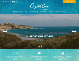 crystalcovebeachcottages.com screenshot