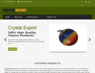 crystalexportindia.net screenshot