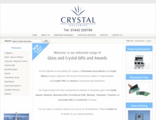 crystalgalleries.co.uk screenshot