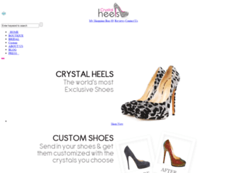 crystalheels.com screenshot