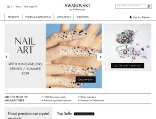 crystallized.swarovski.com screenshot