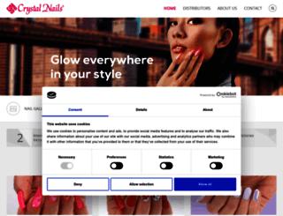 crystalnails.com screenshot