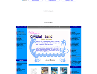 crystalsandresort.com screenshot