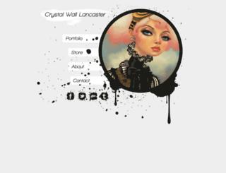 crystalwalllancaster.com screenshot