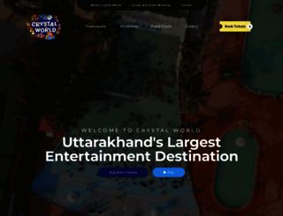 crystalworld.co.in screenshot