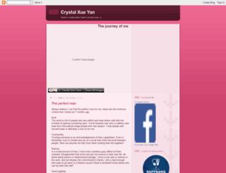crystalxueyan.blogspot.sg screenshot