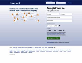 cs-cz.facebook.com screenshot